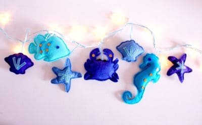 sea life string lights