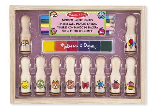 wooden handle set melissa & doug