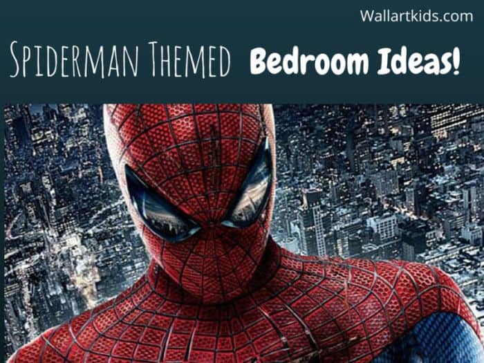 spiderman themed bedroom ideas