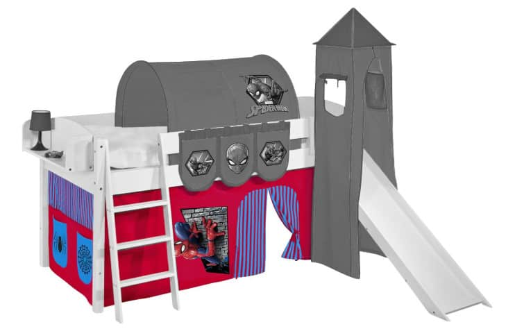 spiderman bed tent for themed bedroom