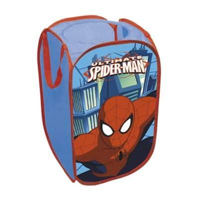 spiderman pop up storage bin