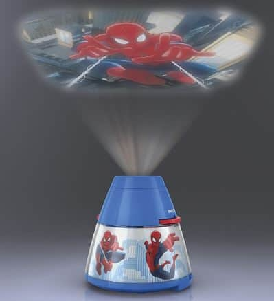 spiderman projector light