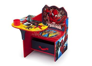 spiderman storage desk and chair