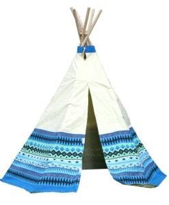 aztec blue teepee playtent