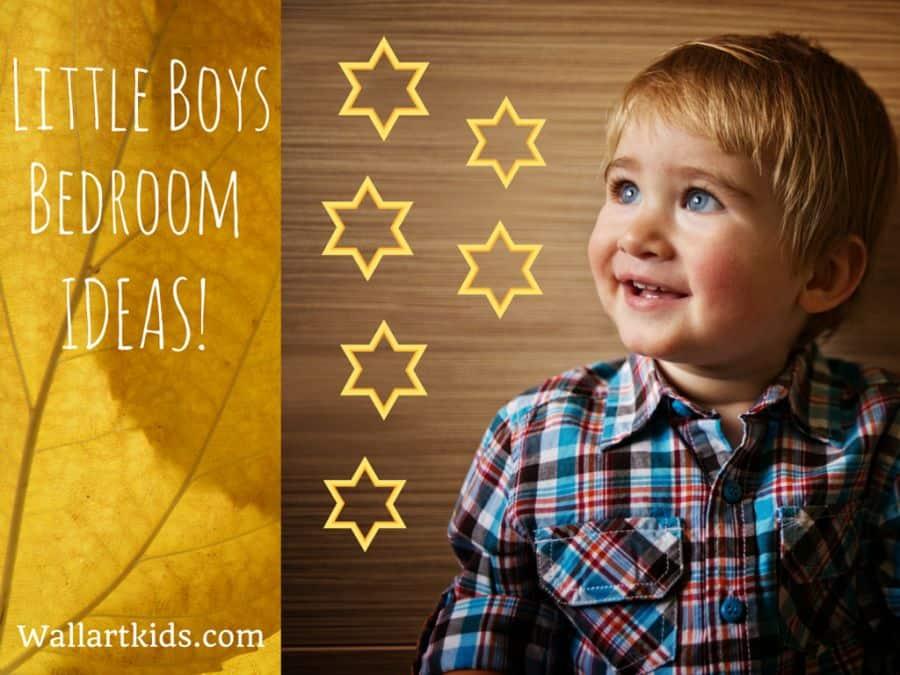 Little Boys Bedroom Ideas! Spark Their Imagination! - Wall Art Kids