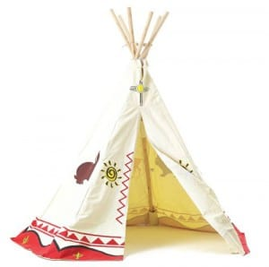 wild west teepee play tent