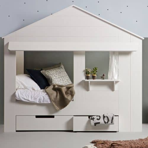 cabin house bed