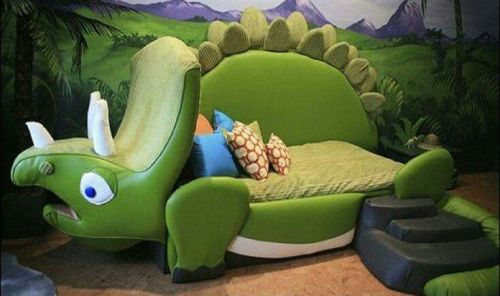 dinosaur bed