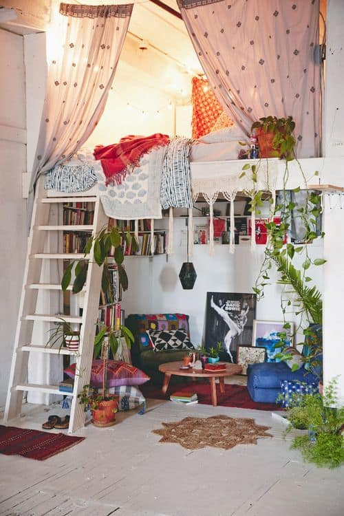 hippy chick girls room