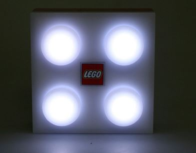White Lego Brick Light!