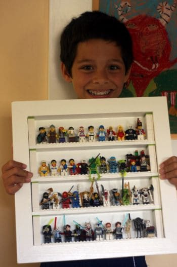 Lego Mini Figure Frame For Lego Characters!