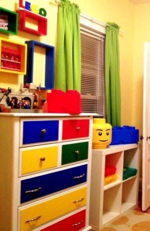 Awesome Lego Room For Kids Ideas!