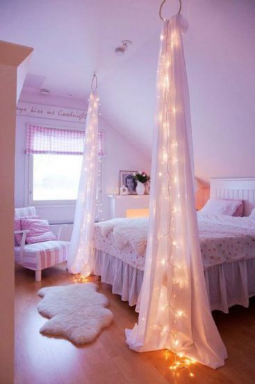 magical girls bedroom