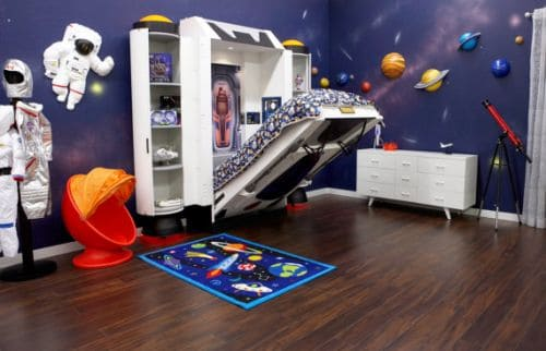 spaceship bed etsy space themed bedroom
