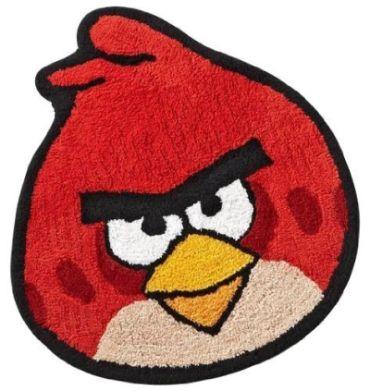 angry birds rug