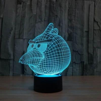 angry birds LED light