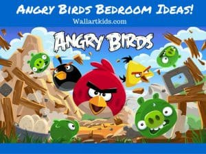 angry birds bedroom ideas