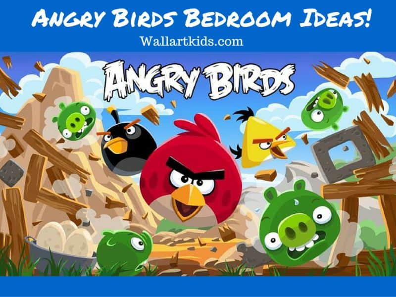 Angry birds bedroom ideas wall art kids angry birds bedroom ideas solutioingenieria Gallery