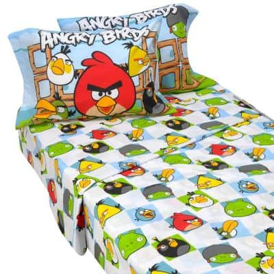 anrgy birds duvet set