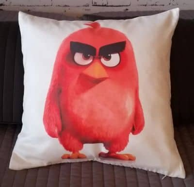 angry birds red cushion