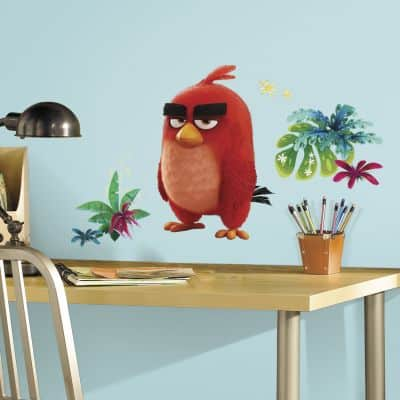 angry birds red wall sticker