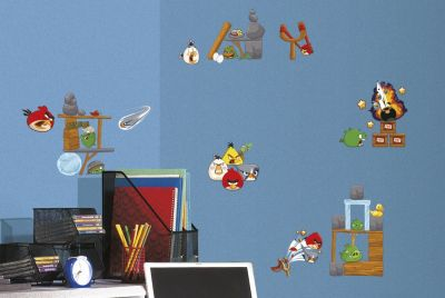 angry birds wall sticker set