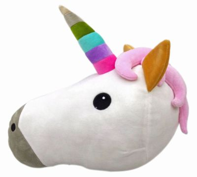 unicorn Emoj pillow