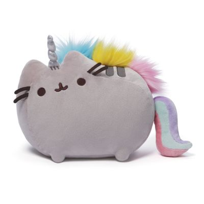 unicorn cat pillow, pusheen unicorn cat.