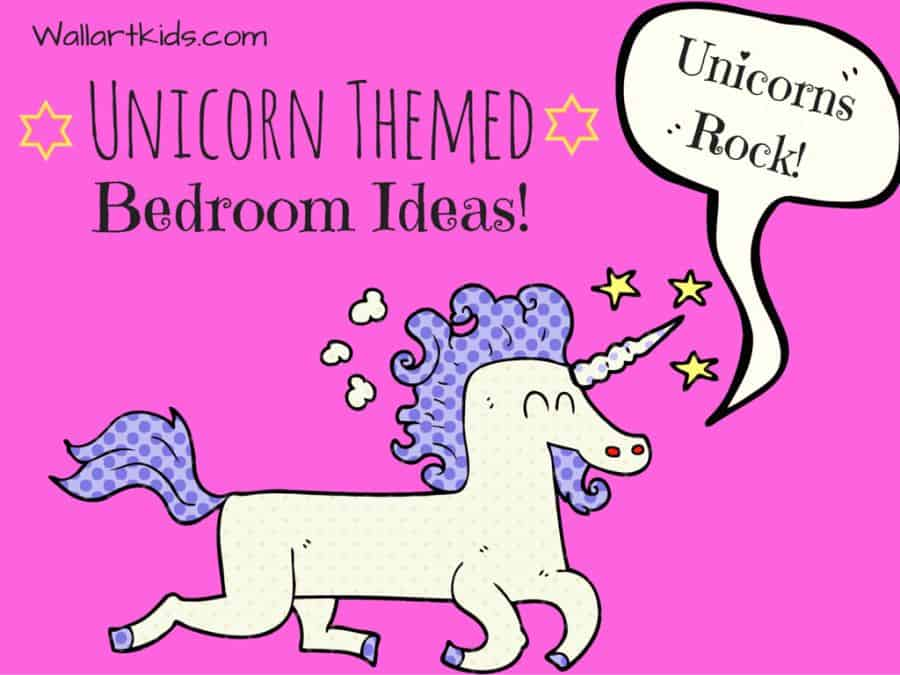 unicorn themed bedroom ideas