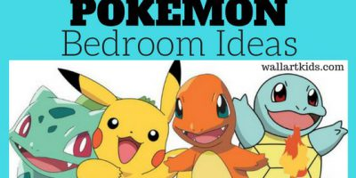 pokemon bedroom ideas