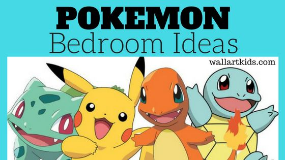 Pokemon Bedroom Ideas Pokemon Go Mania Wall Art Kids