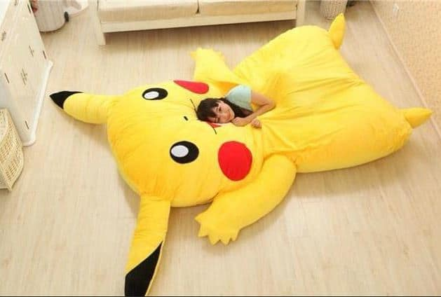 pikachu bed