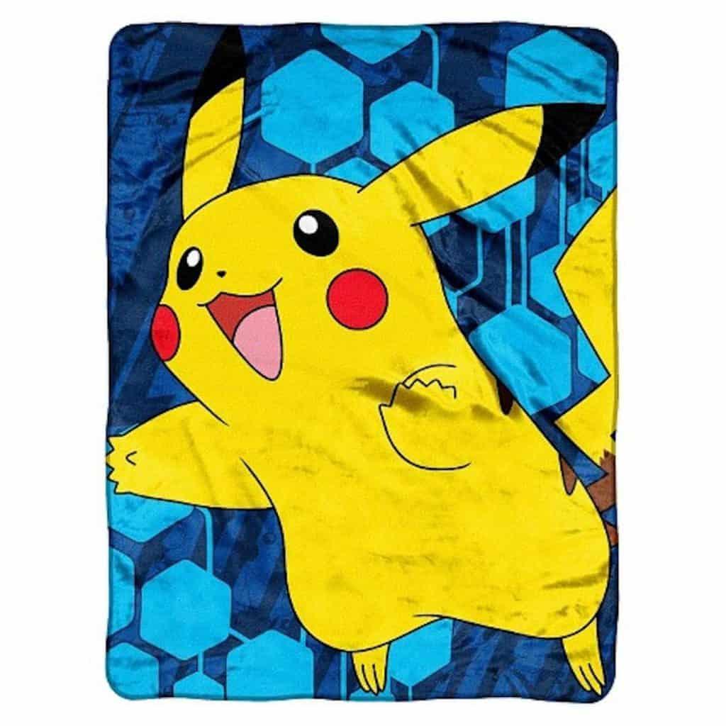 pokemon super plush throw