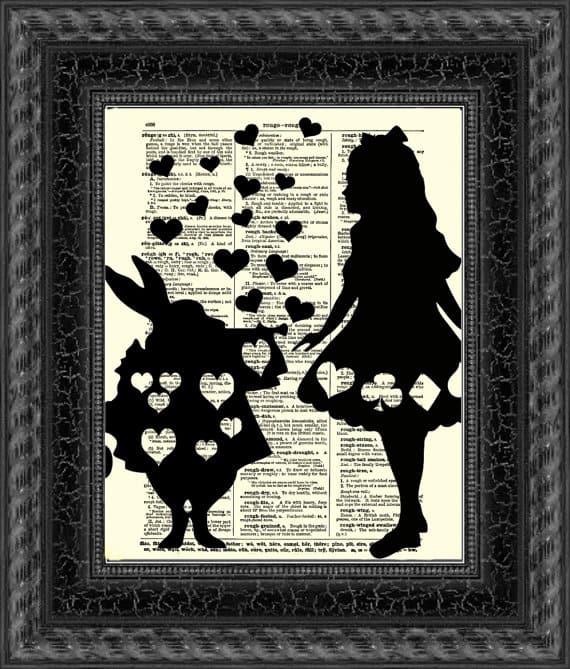 Alice In Wonderland Bedroom Ideas Wall Art Kids