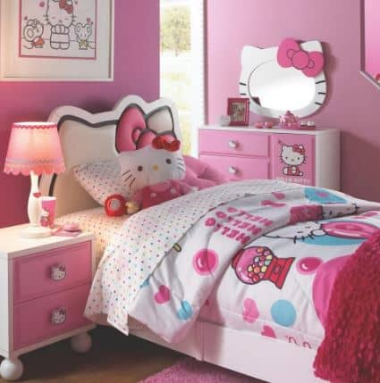 Cute Hello Kitty Bedroom!