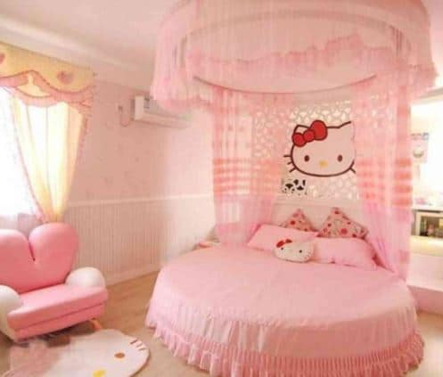 Extravagant Hello Kitty Bedroom!
