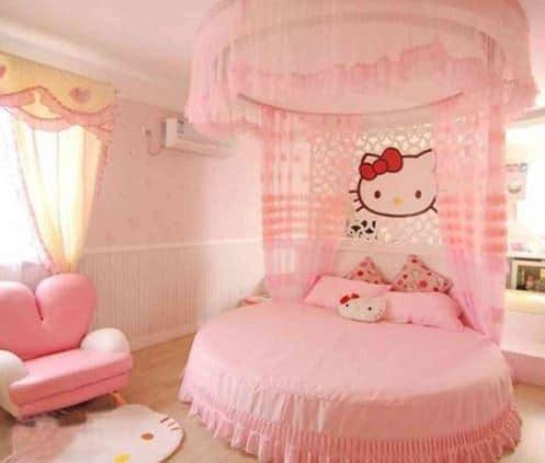 hello kitty bedroom posh