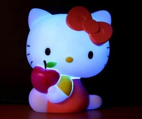 hello kitty mood lamp