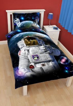 spaceman childrens duvet