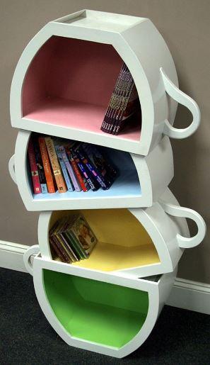 teacup shelves