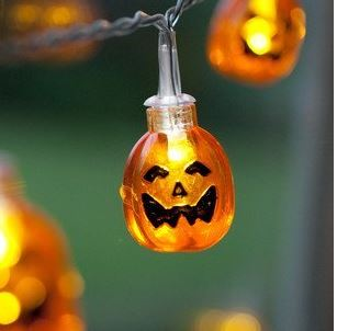 cute pumpkin lights