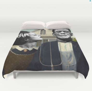frankenstein bed set