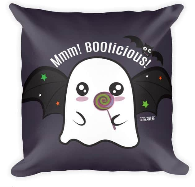 ghost bat pillow