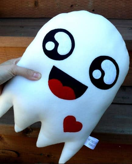 ghost pillow