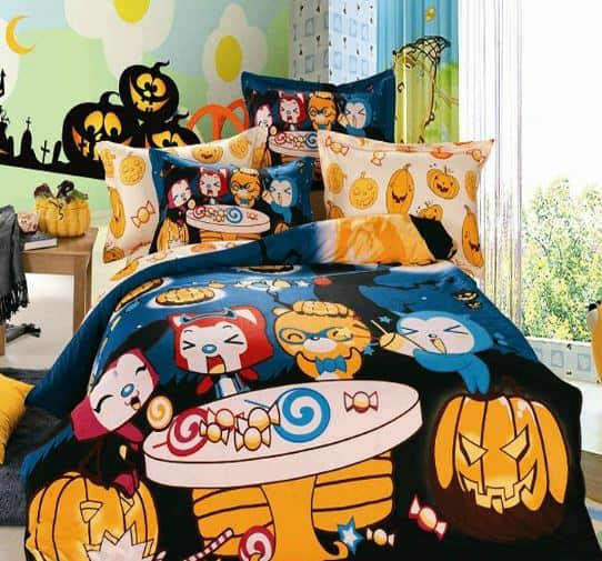 halloween bedroom cute