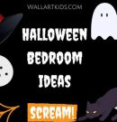 Halloween Bedroom Ideas!  Spooky!