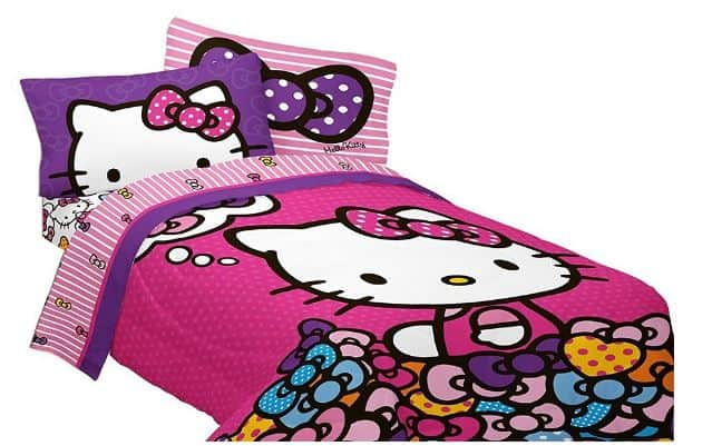 Hello Kitty Bedding Set For Kids And Teens!