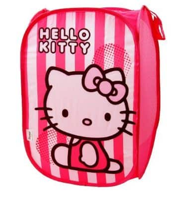 Hello Kitty Pop Up Washing Bin!