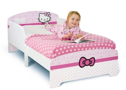 Cute Hello Kitty Toddler Bed!
