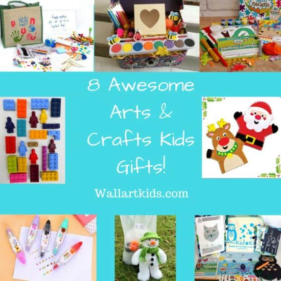 8 Awesome Kids Arts And Crafts Gifts Wall Art Kids
